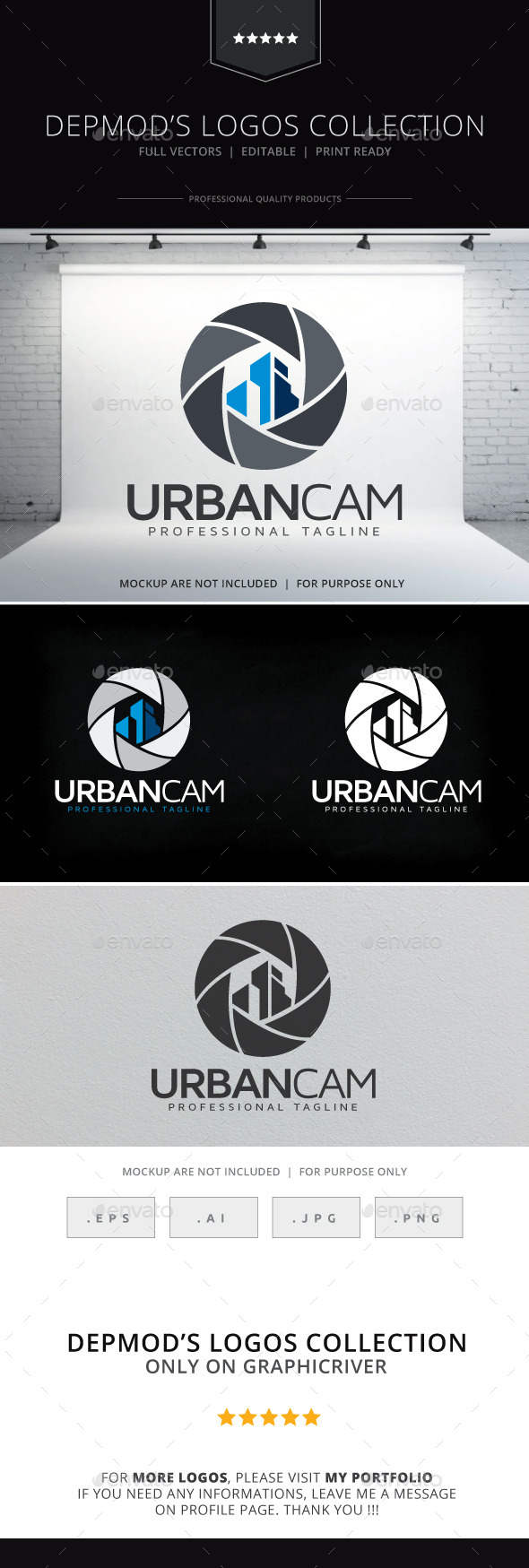 GraphicRiver Urban Cam Logo 10095701