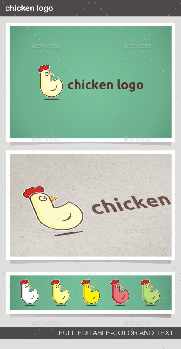 GraphicRiver Chicken Logo 10096349