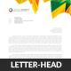 Corporate Business Letterhead Template - GraphicRiver Item for Sale