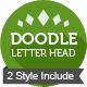 Doodle Letter Head - GraphicRiver Item for Sale
