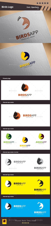 GraphicRiver Birds Logo Template 10097987