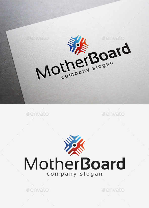 GraphicRiver Mother Board Logo 10098027