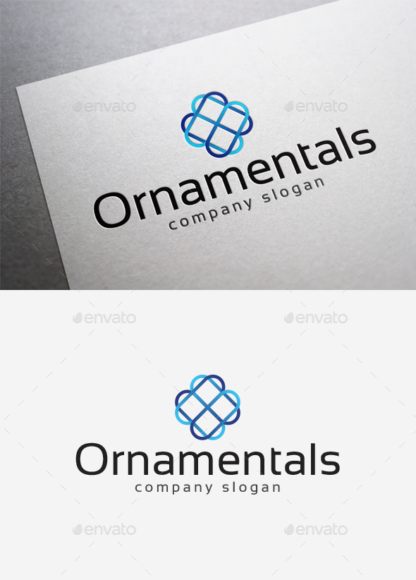 GraphicRiver Ornamentals Logo 10098359