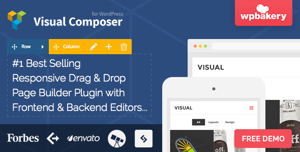 Includes Visual Composer