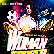 Women Soccer | Flyer Template PSD - GraphicRiver Item for Sale