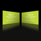 Horizontal Business Card 3D Rendering - GraphicRiver Item for Sale
