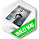 Tablet Business Magazine Template Issue Two - GraphicRiver Item for Sale