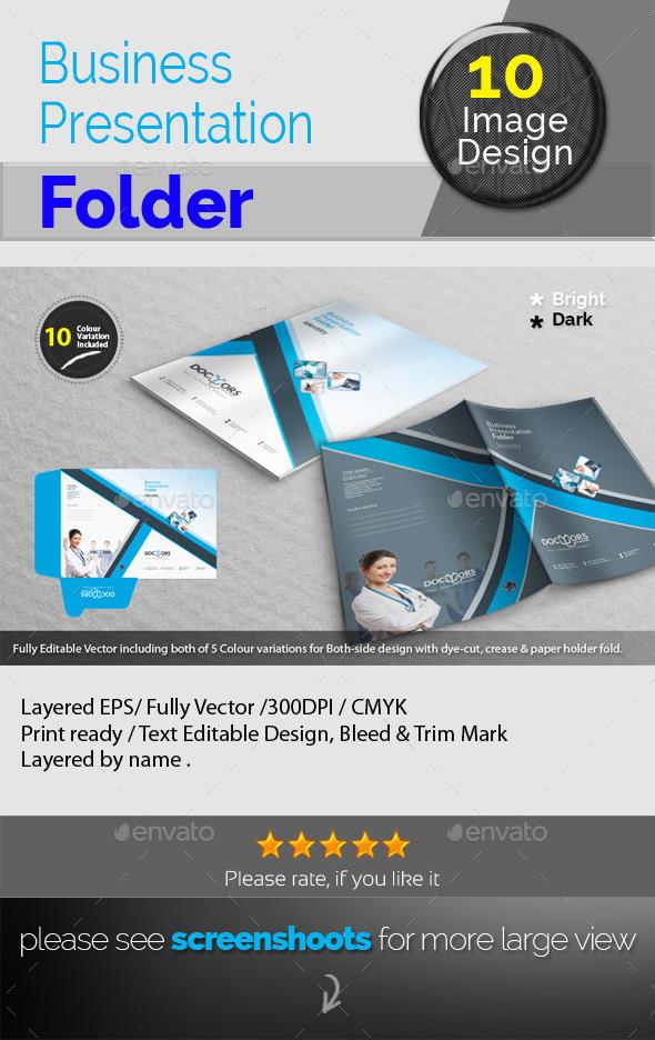 GraphicRiver Corporate Presentation Folder 10098703