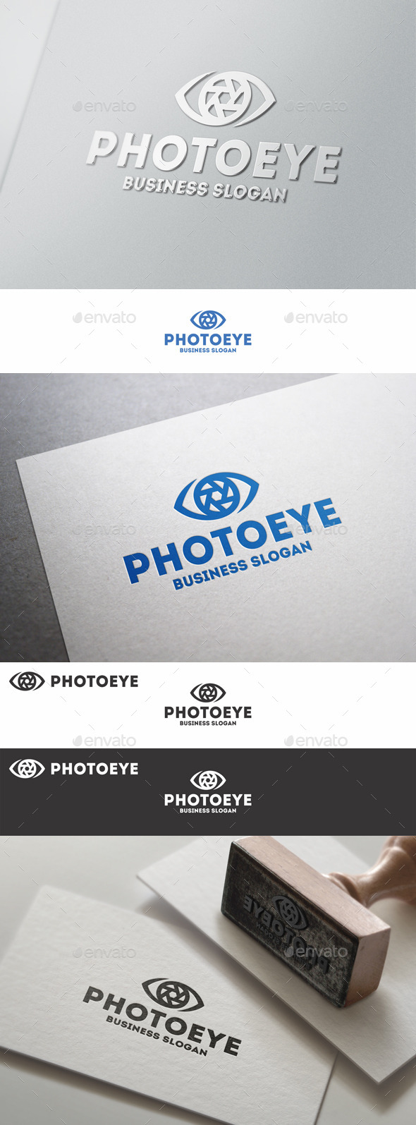 Photo Eye Lens Logo