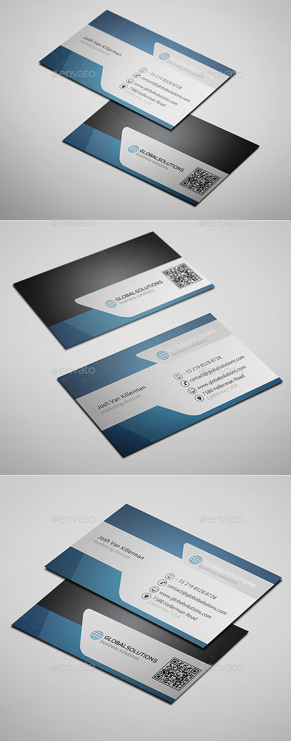 GraphicRiver Corporate Business Card 5 10099146