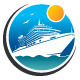 Cruise Trip Logo - GraphicRiver Item for Sale