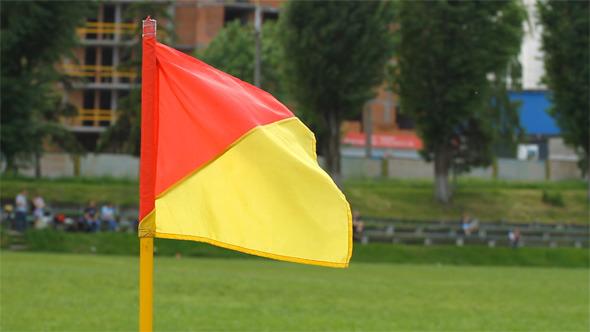 VideoHive Soccer Corner Flag 10099432