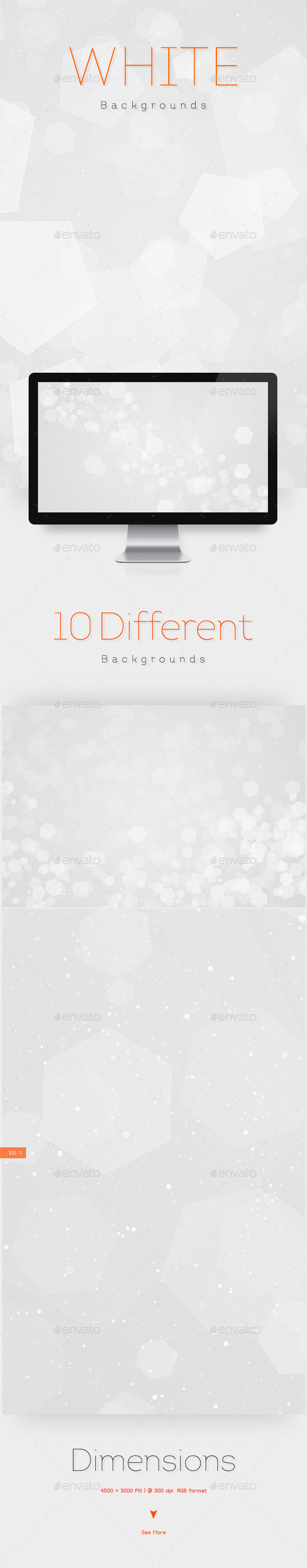GraphicRiver White Abstract Backgrounds 10099907