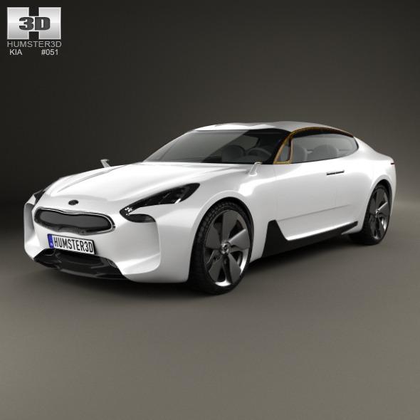 3DOcean Kia GT 2011 10100077