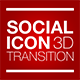 Social Icon 3D Transition - VideoHive Item for Sale