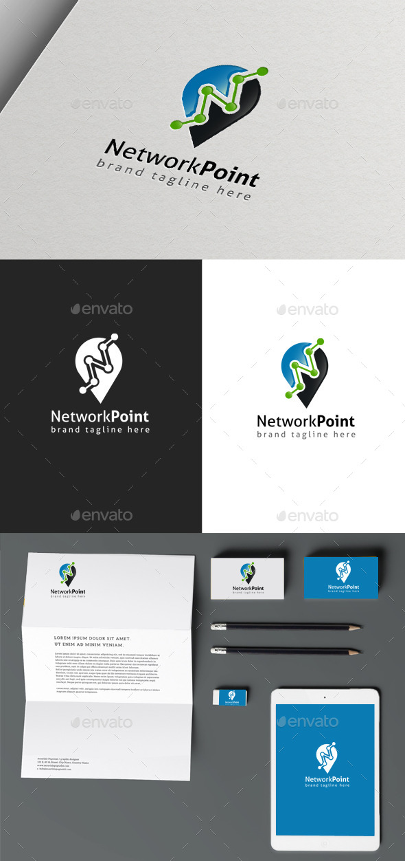 GraphicRiver Network Point 10100451