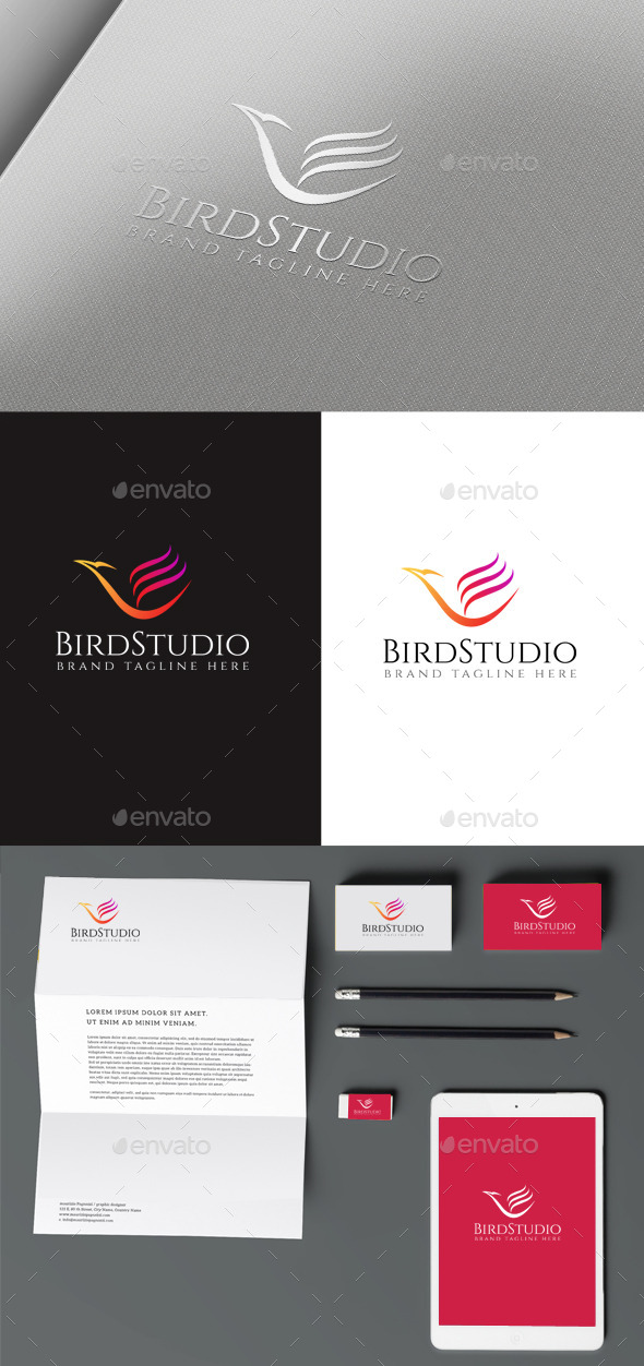 GraphicRiver Bird Studio 10100506