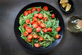 Spaghetti with Roasted Tomatoes and Asparagus Pesto - PhotoDune Item for Sale