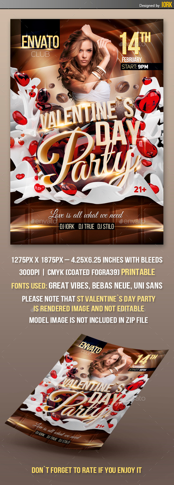 GraphicRiver Valentine`s Day Party 10100969