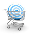 Shopping cart with arrow - PhotoDune Item for Sale