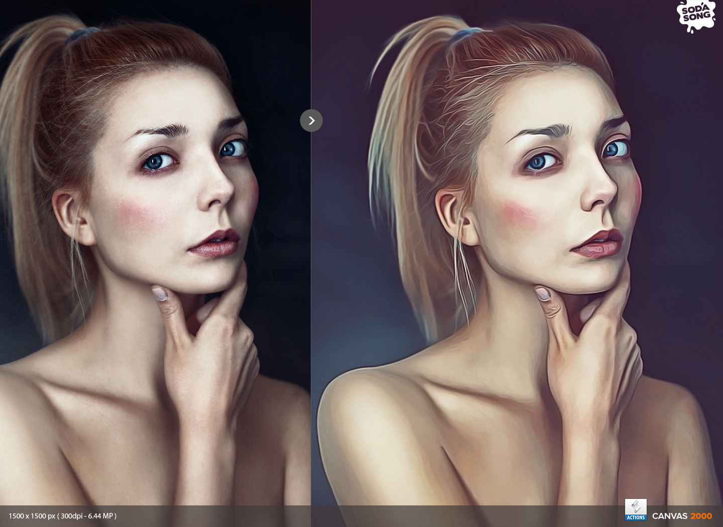 Realistic paint effect using photoshop photoshop tutorials for Make a picture look like a painting