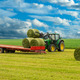 Tractor and hay bales - PhotoDune Item for Sale