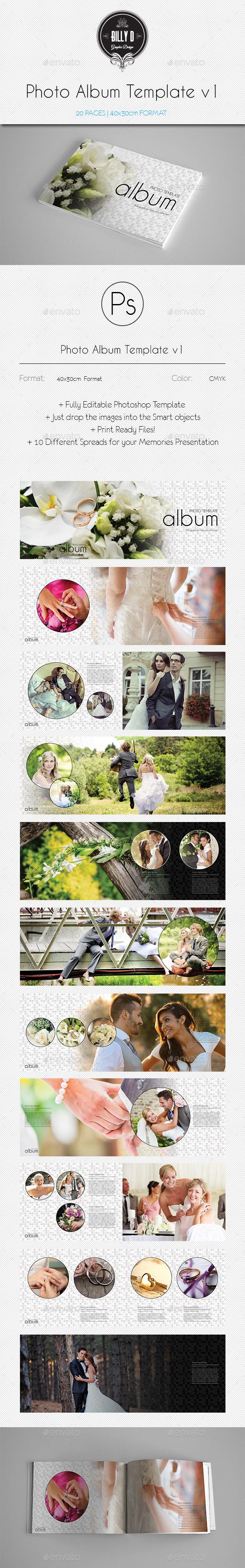 GraphicRiver Photo Album Template v1 10102166