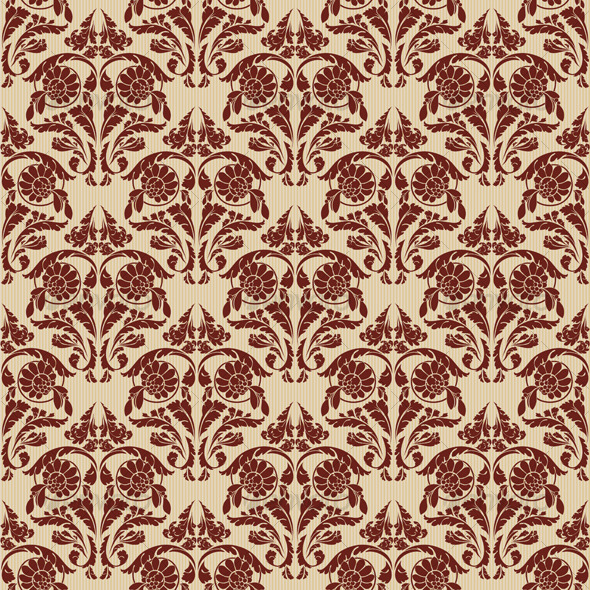 Retro seamless wallpaper - Backgrounds Decorative