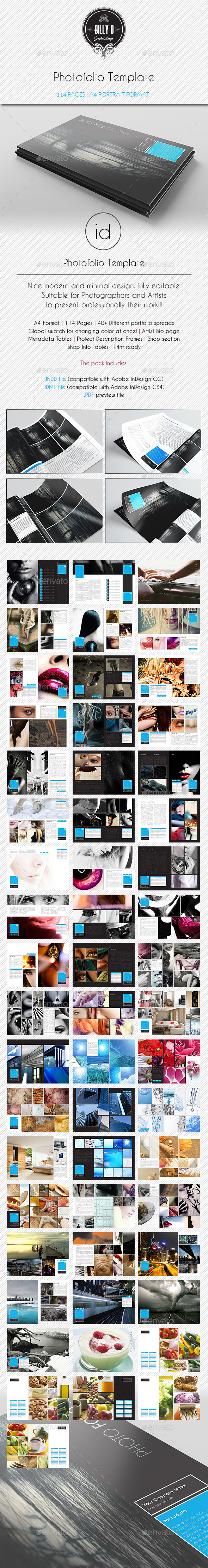 GraphicRiver Photofolio Template 10102939
