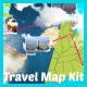 Travel Map Kit - VideoHive Item for Sale