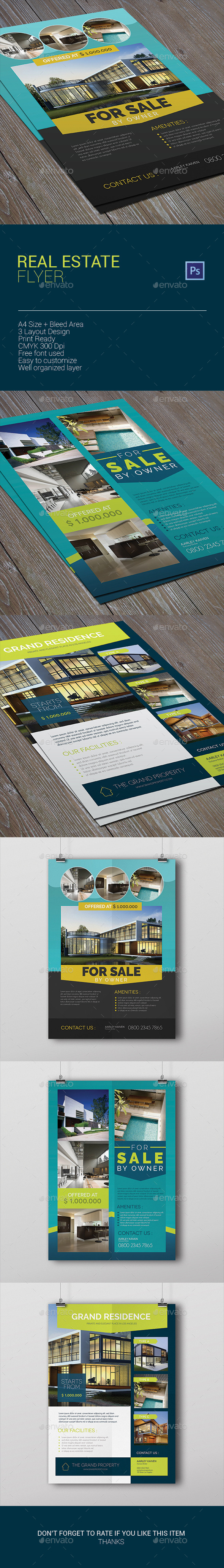 GraphicRiver Real Estate Flyer 10102945