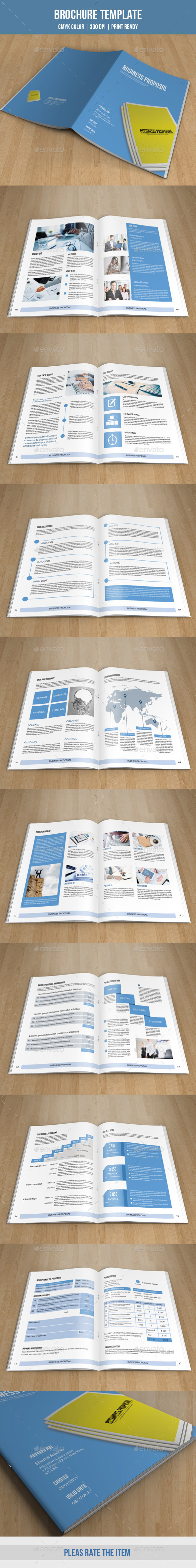 GraphicRiver Business Proposal Template-V184 10102999