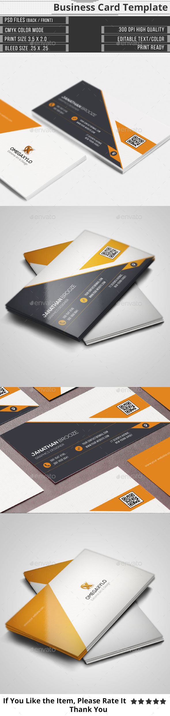 GraphicRiver Elegant Corporate Business Card 10103190