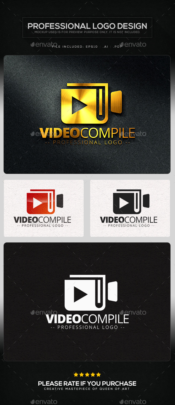 GraphicRiver Video Compile Logo Template 10103311