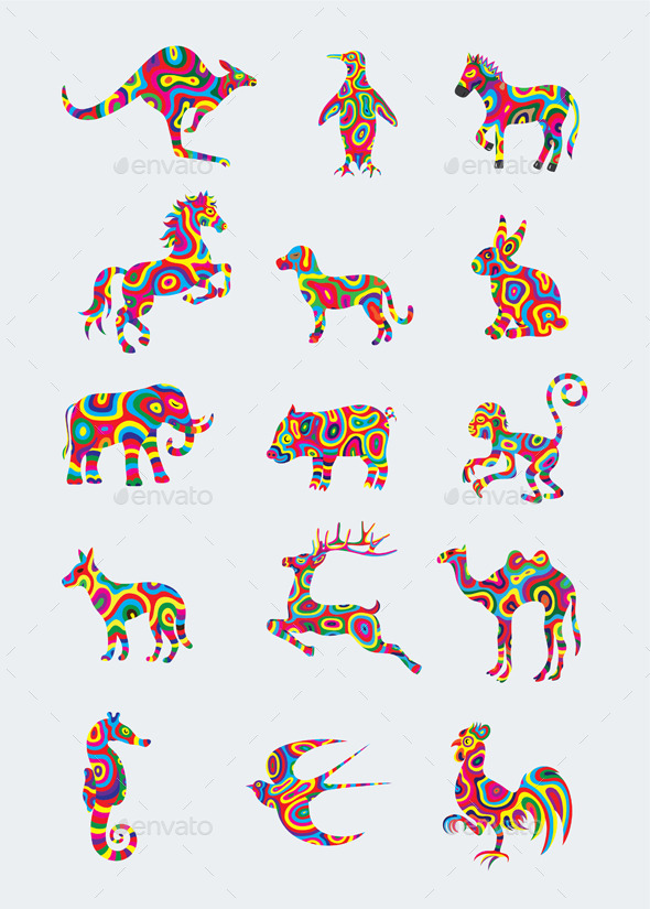 GraphicRiver Animal Set 10103376