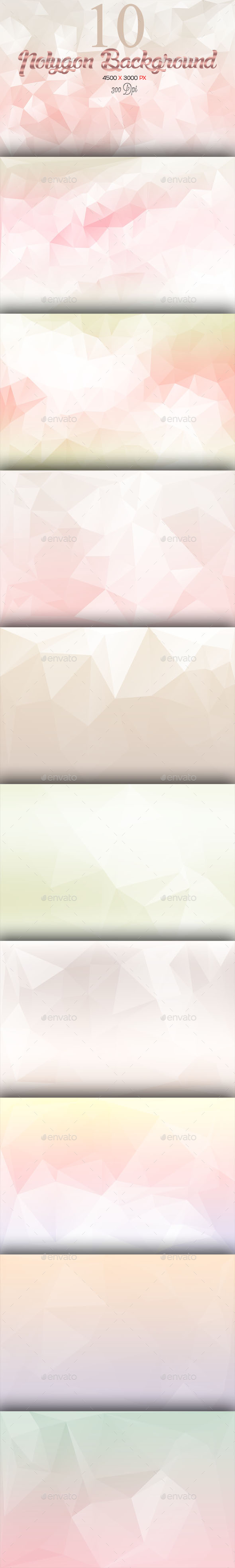 GraphicRiver 10 Polygon Background Part 7 10103473