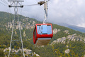 The gondola lift to the top of the mountains - PhotoDune Item for Sale
