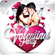 Valentines Party Flyer/Poster - GraphicRiver Item for Sale