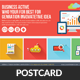 Creative Business Agency Postcard Template - GraphicRiver Item for Sale