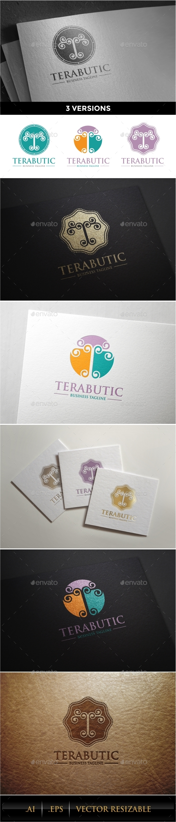 GraphicRiver T Letter Logo Template 10103750