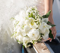 Bride holding wedding bouquet - PhotoDune Item for Sale