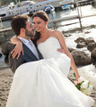Bride in the arms of her husband. - PhotoDune Item for Sale