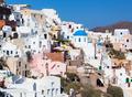 View on Oia village, Santorini Island. - PhotoDune Item for Sale