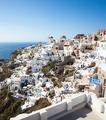 Oia village, Santorini, view with windmills - PhotoDune Item for Sale
