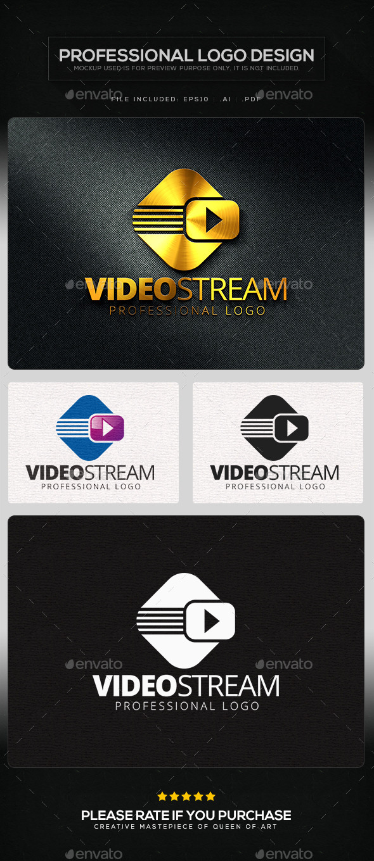 GraphicRiver Video Stream Logo Template 10105077
