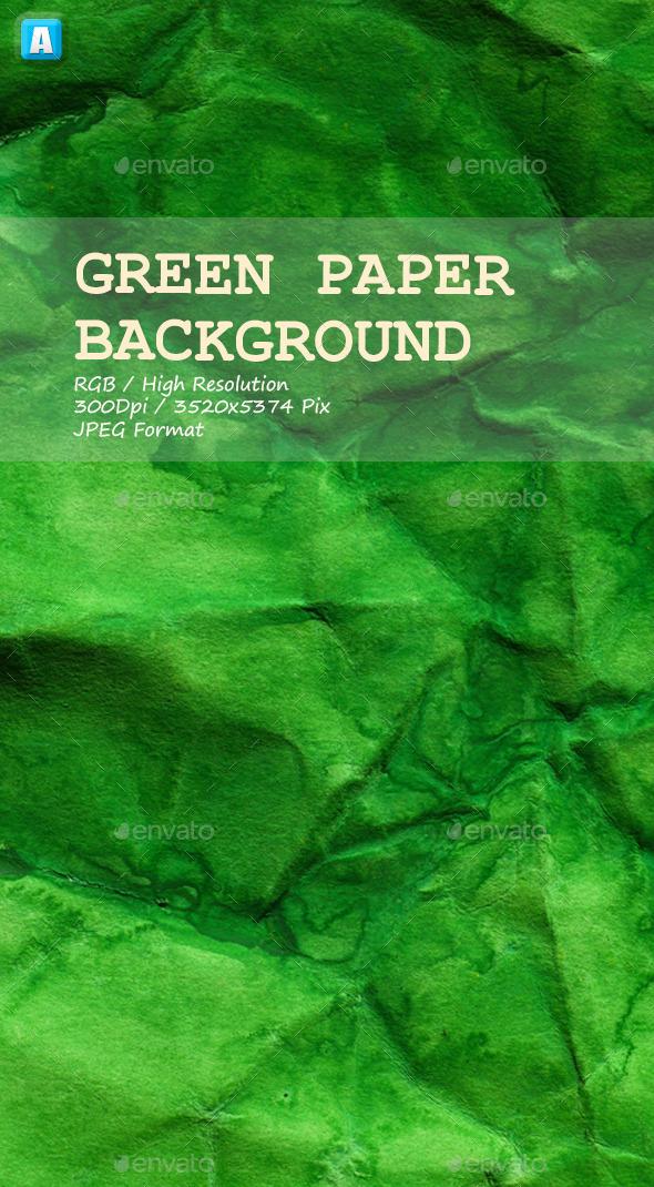 GraphicRiver Green Paper Texture 0034 10105688