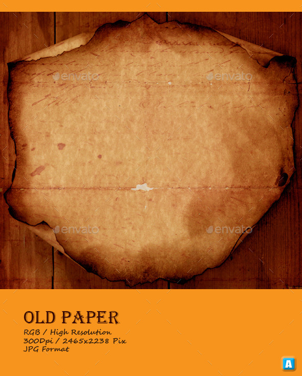 GraphicRiver Vintage Old Paper Texture 0035 10105709