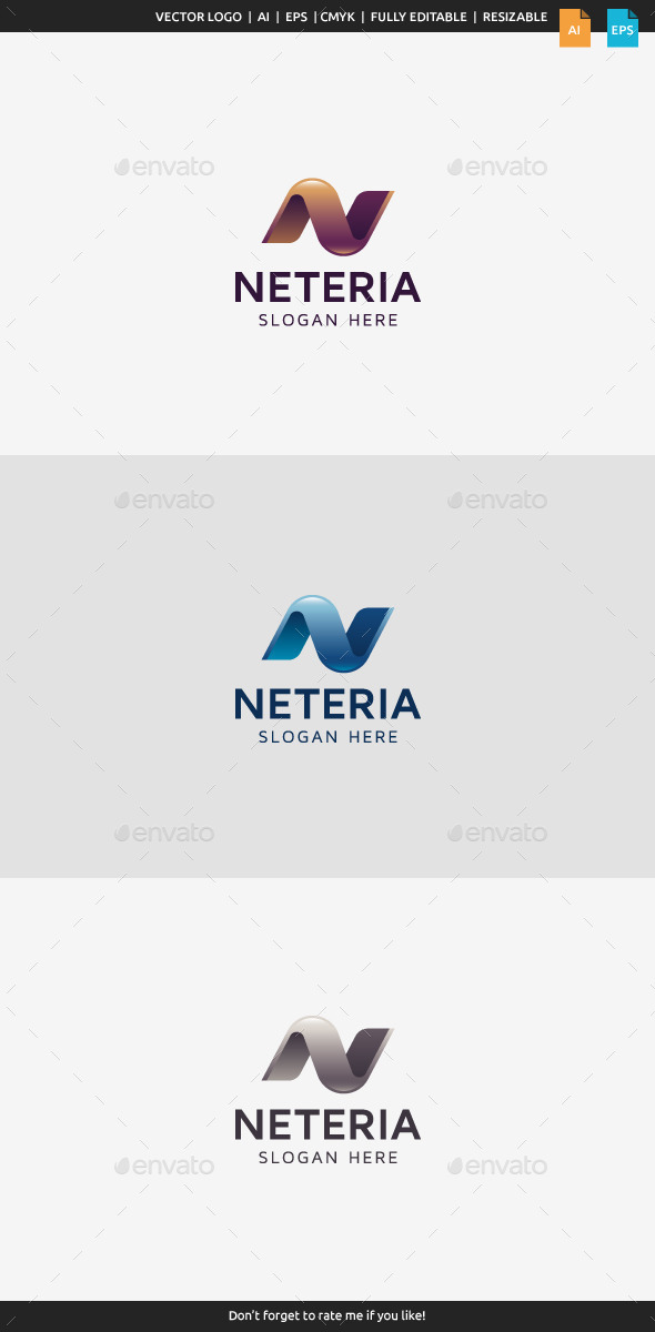 Neteria Letter N