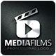 Media Films Logo Template