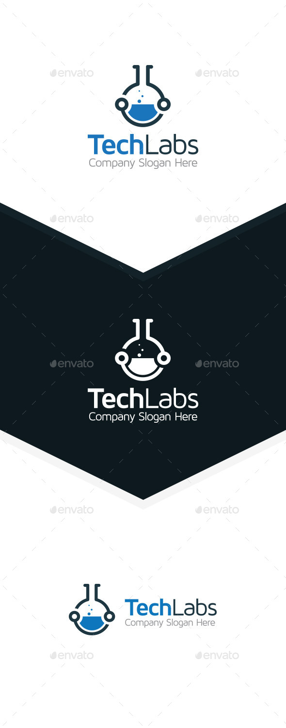 GraphicRiver Tech Lab 10105933